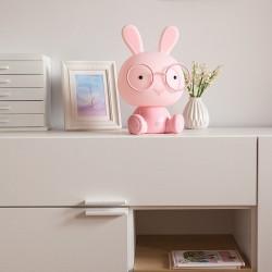 LAMPKA do pokoju dziecka Króliczek różowy 30cm