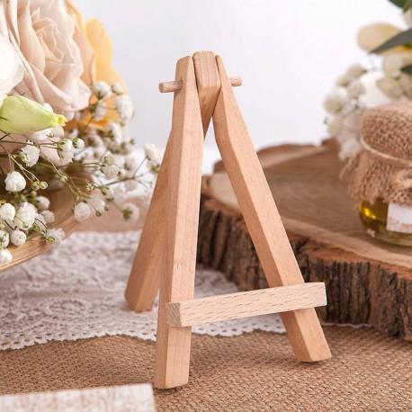 SZTALUGA drewniana MINI na bileciki, wizytówki 12cm