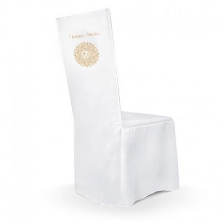 POKROWIEC na krzesło komunijne IHS Exclusive