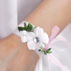 OZDOBA na rękę dla dziewczynki Subtelny Róż