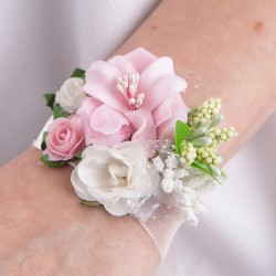 OZDOBA na rękę dla dziewczynki Uroczy Róż