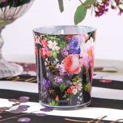 ŚWIECA zapachowa w szkle Dark Flowers PREZENT