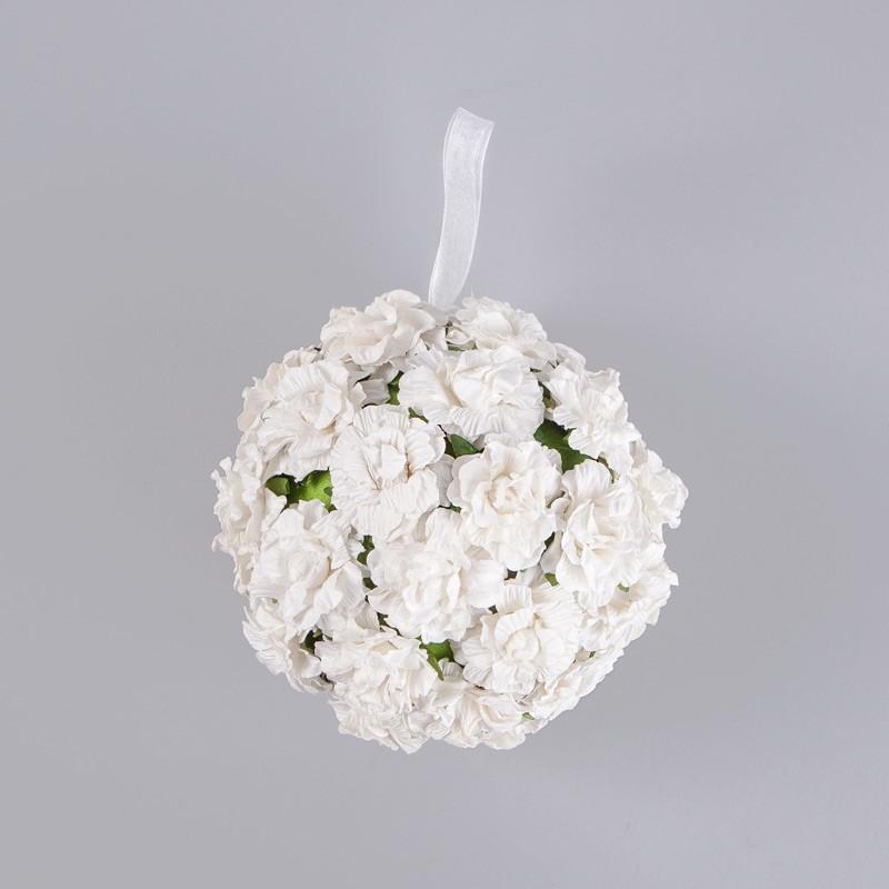 kula z kwiatami do dekoracji