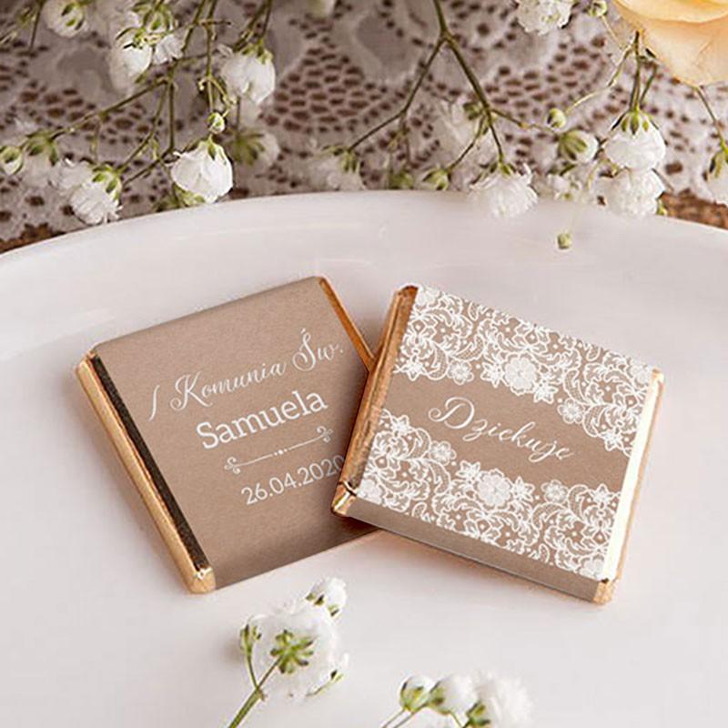 czekoladki komunijne