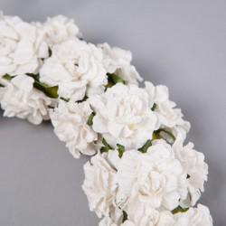 WIANEK uroczy z różyczek 8cm