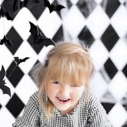 GIRLANDA na Halloween Nietoperze Czarne 1,5m