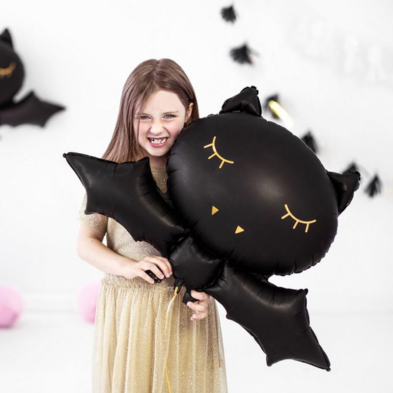 Balon na Halloween w kształcie nietoperza
