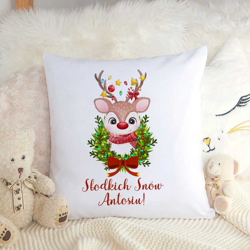 Poduszka na prezent świąteczny dla dziecka