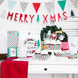 BANER dekoracyjny świąteczny Merry Xmas 120cm