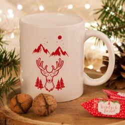 KUBEK świąteczny na prezent Z IMIENIEM Wild Style
