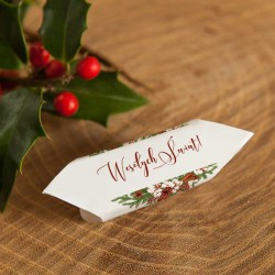 KRÓWKI świąteczne na prezent Naturalne Święta 20szt
