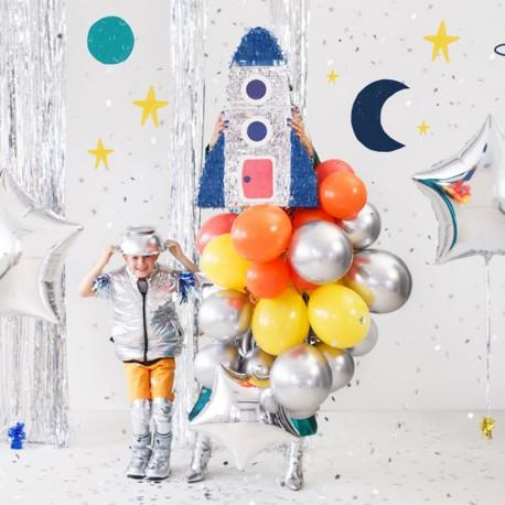 PINIATA zabawa urodzinowa Rakieta Astronauta 45,5x69,5x14cm