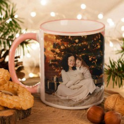 KUBEK na prezent świąteczny dla Babci Z TWOIM ZDJĘCIEM