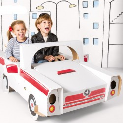 SUPER Auto do kolorowania GIGA 145cm +naklejki