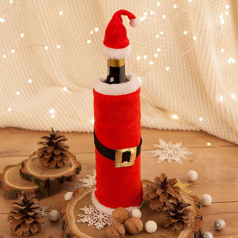 Pokrowiec na butelkę na Boże Narodzenie