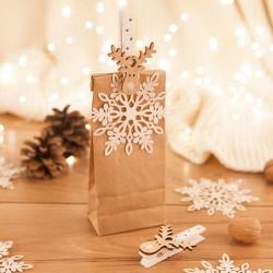 TOREBKI na prezenciki świąteczne 6szt KRAFT
