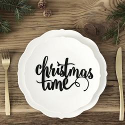 NAPIS dekoracyjny dekoracja świąteczna Christmas Time