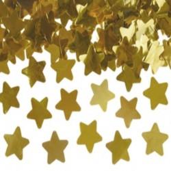 KONFETTI WYSTRZAŁOWE na Sylwestra Złote Gwiazdy