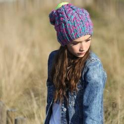 CZAPKA zimowa A head full of dreams RĘCZNIE ROBIONA W POLSCE