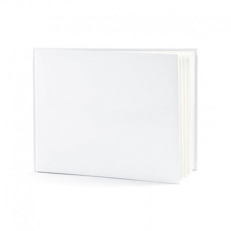 KSIĘGA GOŚCI białe kartki BAZA do aranżacji A4 100 stron
