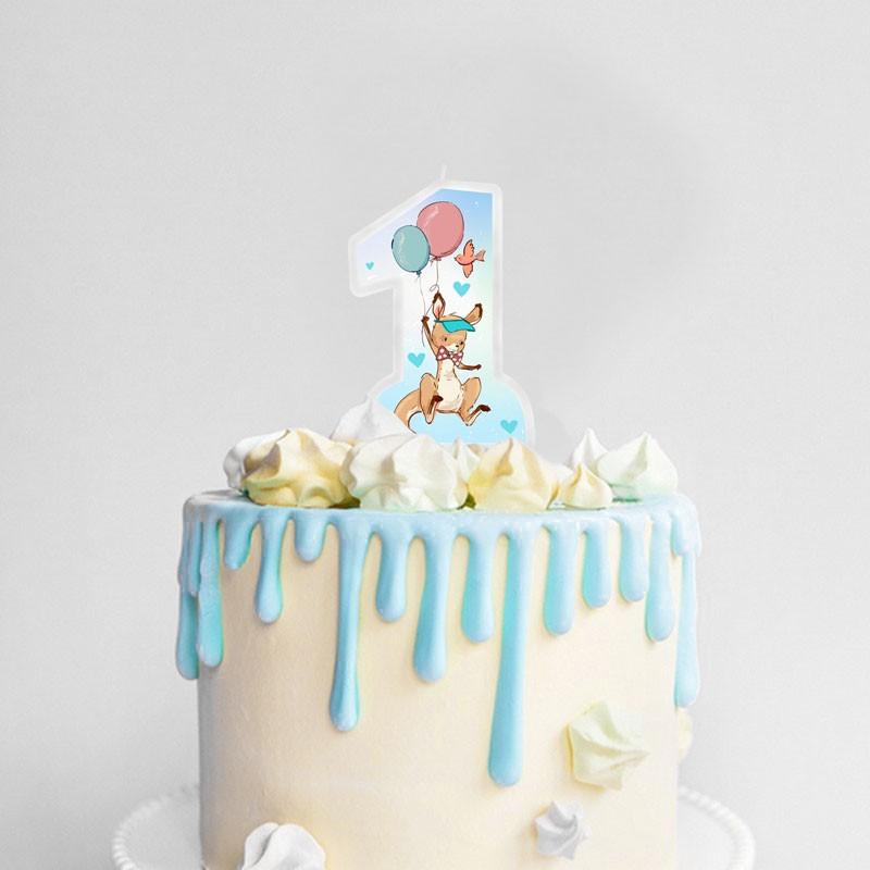 świeczka na tort na Roczek