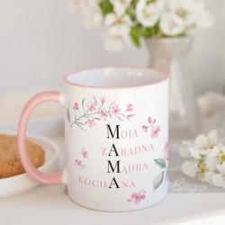 PREZENT dla Mamy Zestaw Herbaciany I z herbatą i miodem Z IMIENIEM