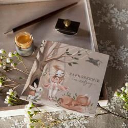 ZAPROSZENIA na Urodziny dziewczynki Kraina Czarów 10szt (+koperty)