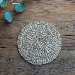PODKŁADKA wiklinowa okrągła średnia 20cm