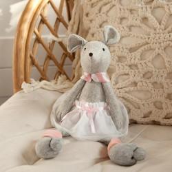 DEKORACJA pokoju dziecka Maskotka Myszka siedząca prezent 35cm