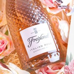 PREZENT na Dzień Matki Wino musujące Kryształowy LUX w skrzyni