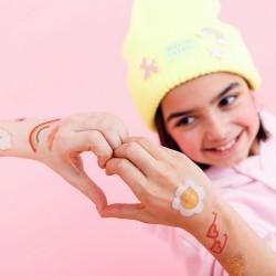 TATUAŻE zmywalne dla dzieci zabawa urodzinowa Kolorowe 14szt