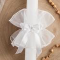 STROIK/OKAPNIK na świecę Kokardka z Cyrkonią (24)