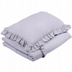 POŚCIEL do łóżeczka z falbanką 100x135cm Janoszary