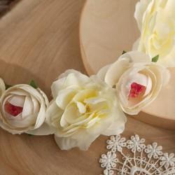 WIANEK komunijny Białe Kwiaty OKAZAŁY