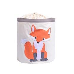 POJEMNIK na zabawki worek na pranie Lisek 43x64cm