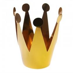 KORONA Złota Princess do dekoracji tortu 14cm