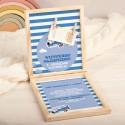 KARTKA urodzinowa w pudełku życzenia Z PODPISEM Samolot