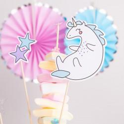 KARTECZKI na piku Unicorn Jednorożec