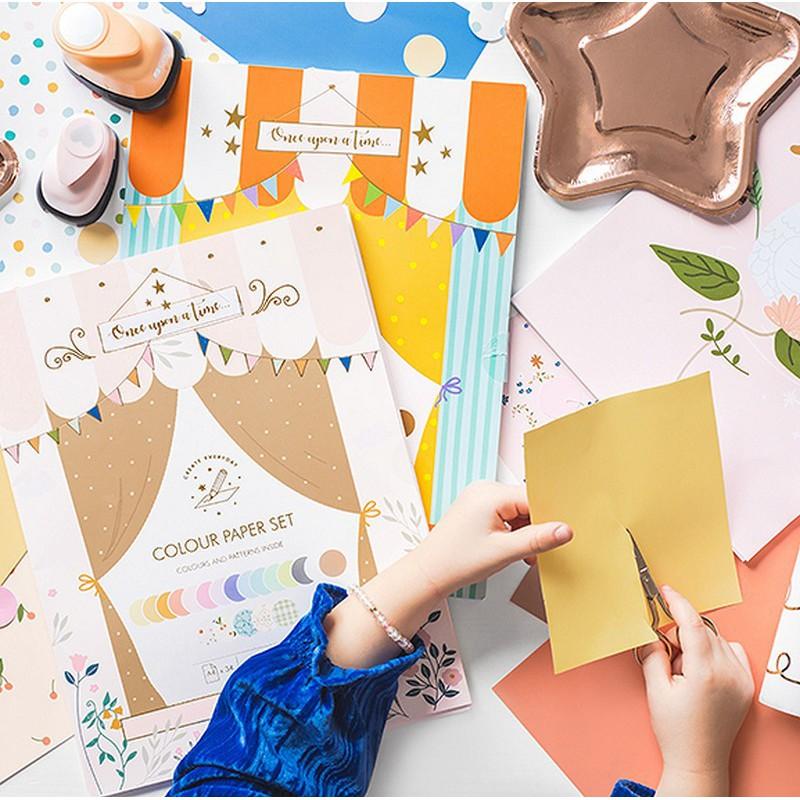 Piękne papiery kolorowe do kreatywnych zabaw z dzieckiem