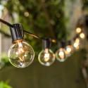 GIRLANDA świąteczna z żarówek LED 10 żarówek 5m
