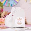 PUDEŁECZKA serca na Roczek i Urodziny dziecka Unicorn Jednorożec (+etykiety z imieniem+białe wstążki) 10szt