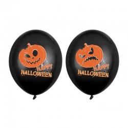 BALONY na Halloween Dynie 30cm 6szt