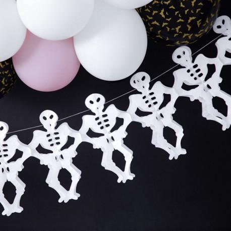 GIRLANDA na Halloween Szkielety 3m