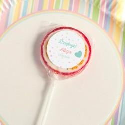 LIZAKI dla gości na Roczek i Urodziny dziecka Balloons  (+etykiety) 10szt