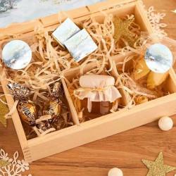 PREZENT świąteczny w skrzyni Z PODPISEM Magia Świąt LUX