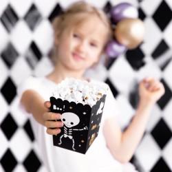 PUDEŁKA na Popcorn na Halloween Boo 6szt