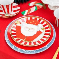 SERWETKI świąteczne Mikołaj 16x15cm 20szt