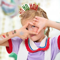 OPASKA świąteczna Ho Ho Ho