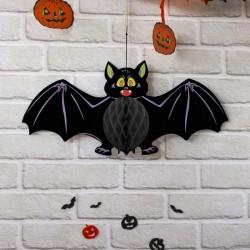 DEKORACJA na Halloween Nietoperz 60cm EFEKT 3D