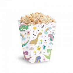PUDEŁKA na Popcorn 5szt DINOZAURY